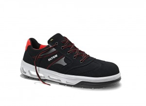 Buty Elten Ned Black Low ESD S2