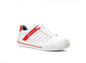 Buty Elten Norris white-red Low ESD 01